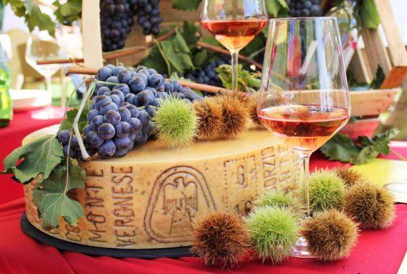 Castagne, Bardolino e Monte Veronese: un mese con i prodotti del Baldo