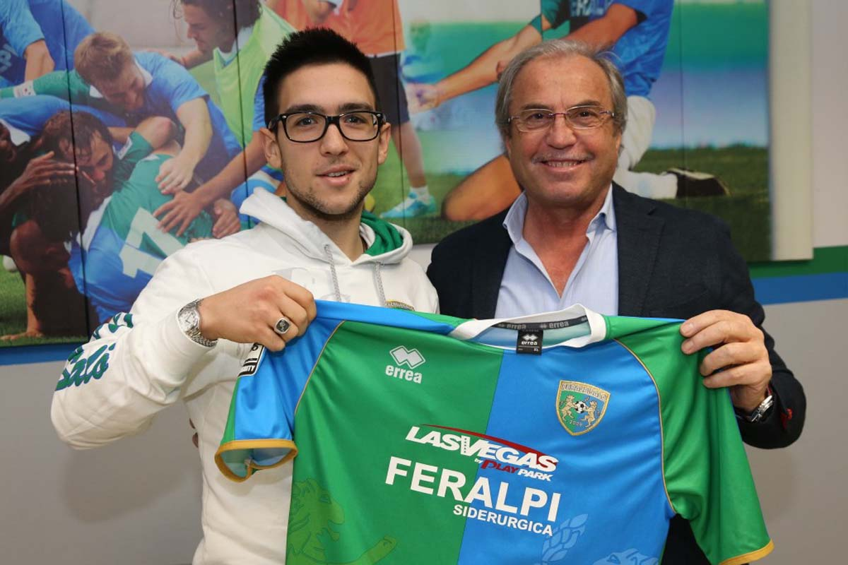 Feralpi presentato antonio palma gardapost - Antonio palma ...