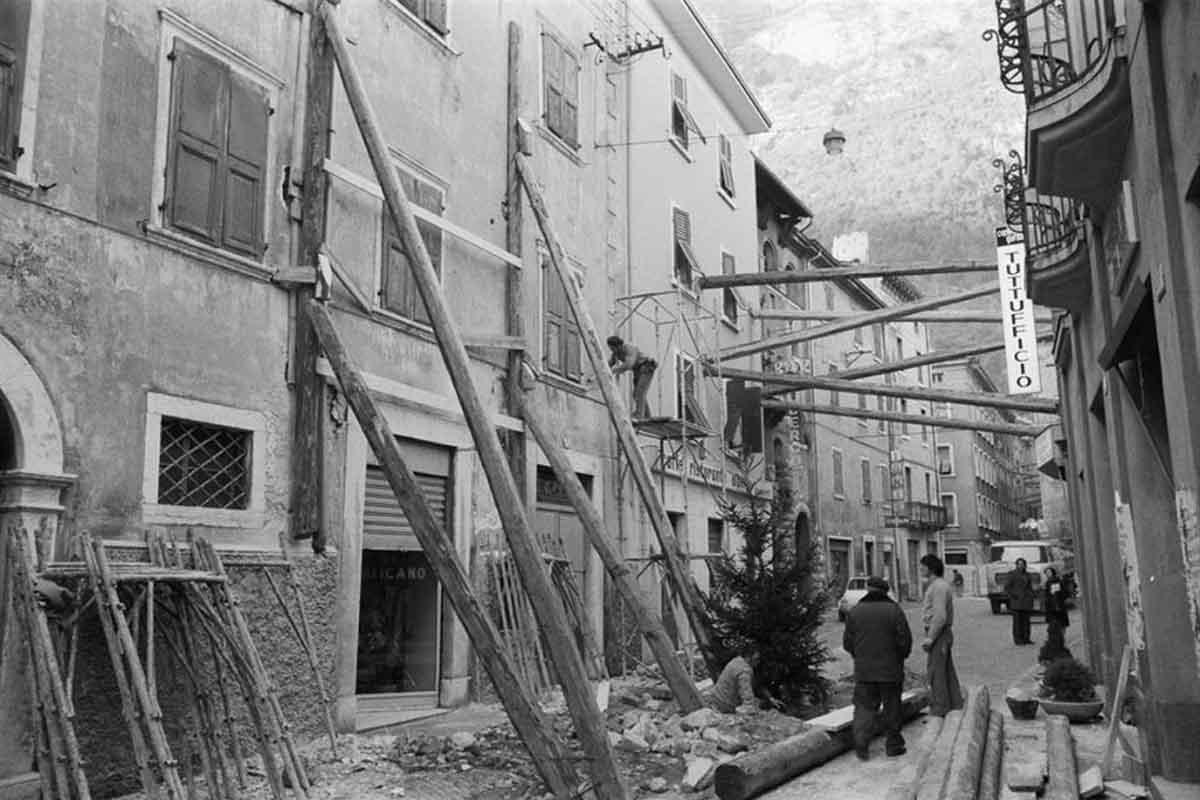 Riva del Garda, il terremoto del 1976.