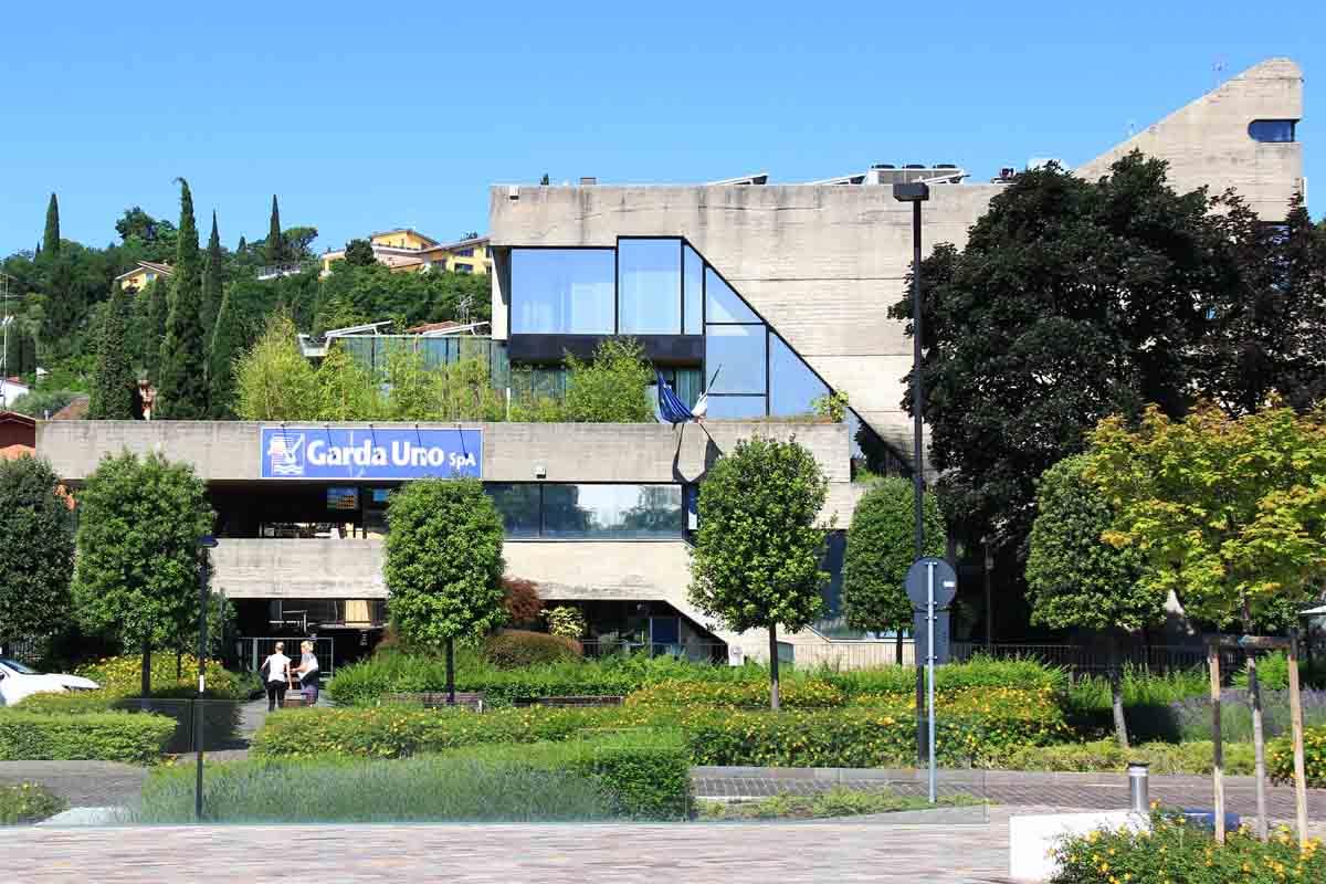 La sede di Garda Uno Spa, a Padenghe.