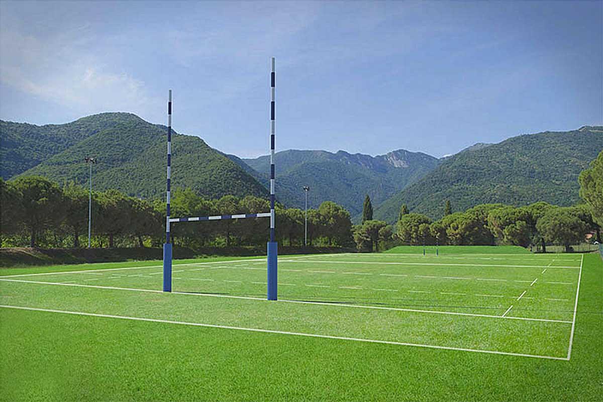 Euro per finanziare un metro quadro del futuro campo da rugby