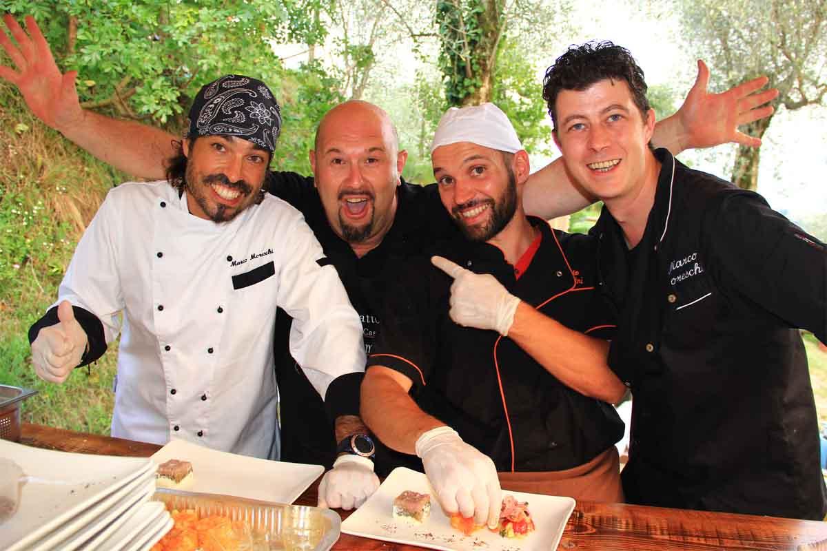 Chef in cascina Sant'Ambrogio, in scena i sapori del lago