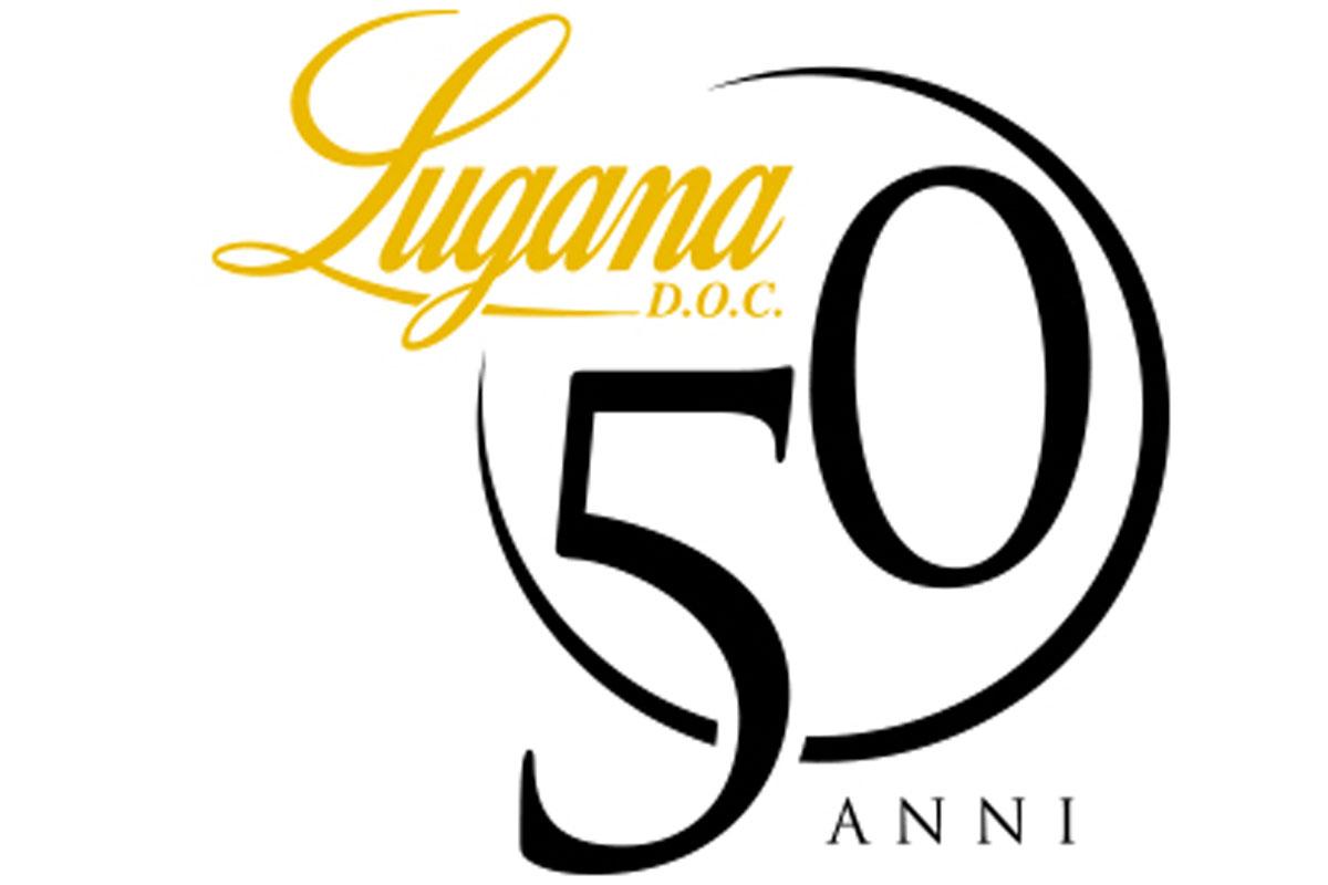 lugana 50 anni logo