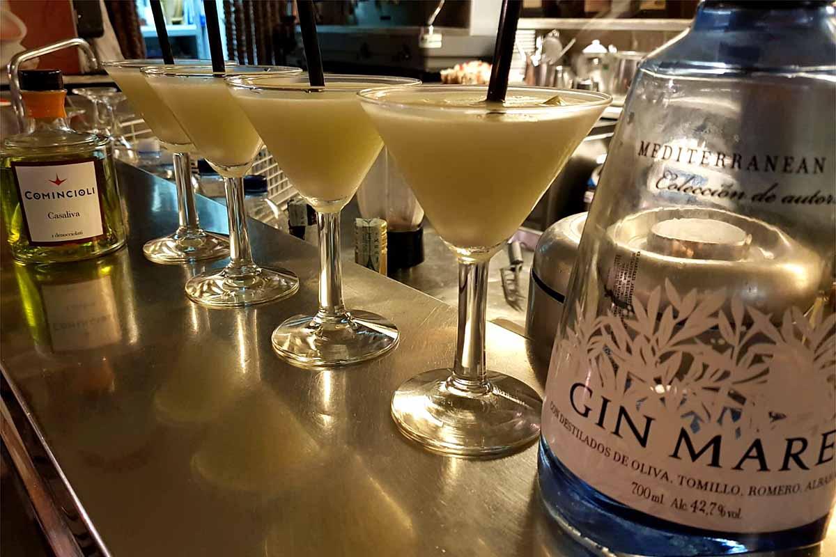 Il cocktail più trendy dell'estate gardesana è all'olio d'oliva