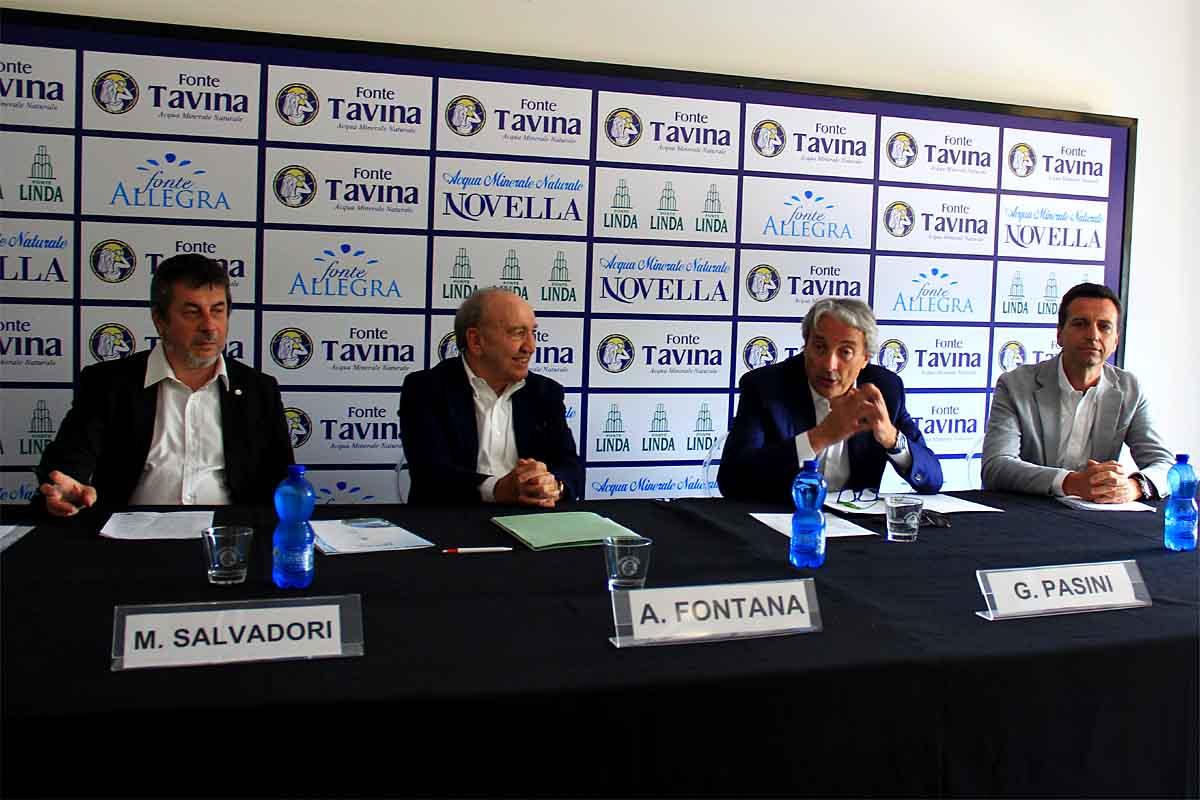 Da sinistra: Mauro Salvadori, Armando Fontana, Giuseppe Pasini e Stefano Fontana.