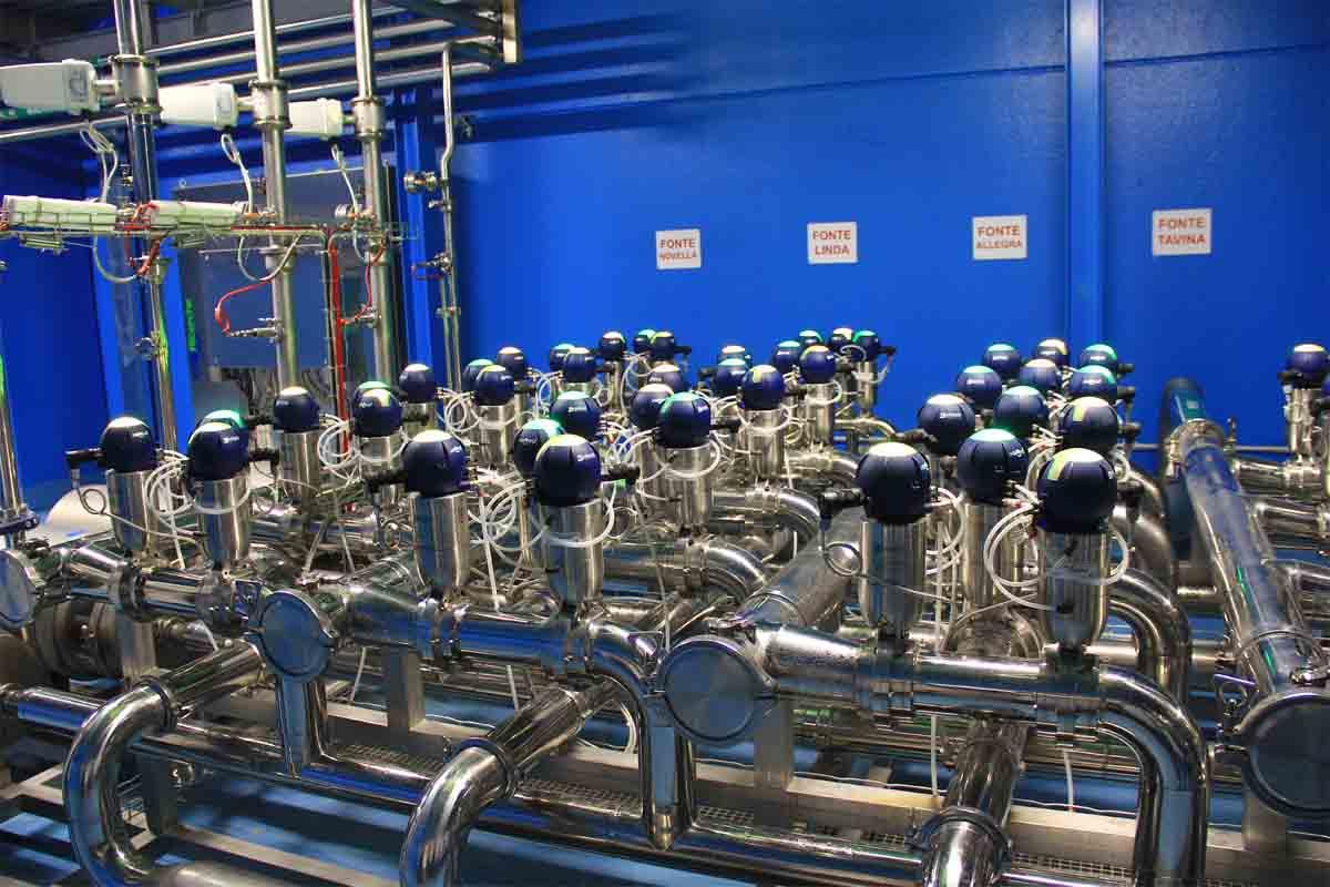 Il nuovo stabilimento di Tavina Spa è stato realizzato applicando tutti i principi dell'industria 4.0.