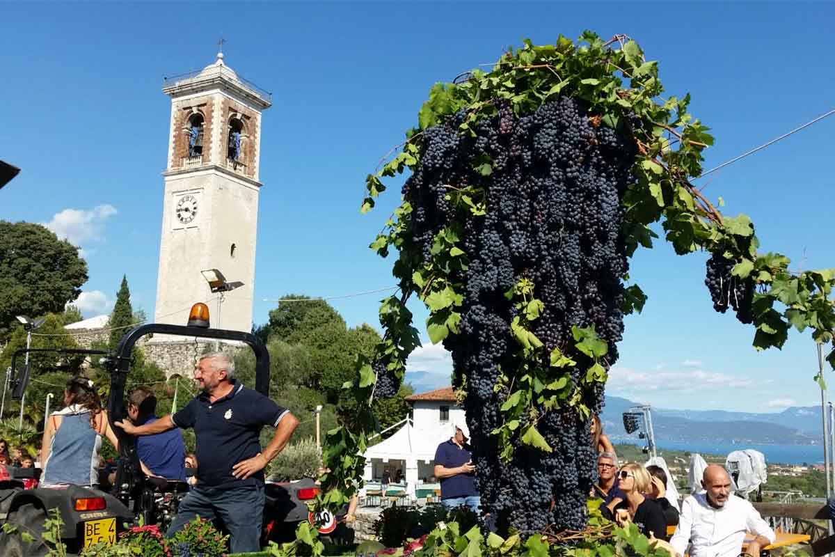 Fiera di Puegnago, dal 26 agosto un weekend con i rossi della Valtènesi