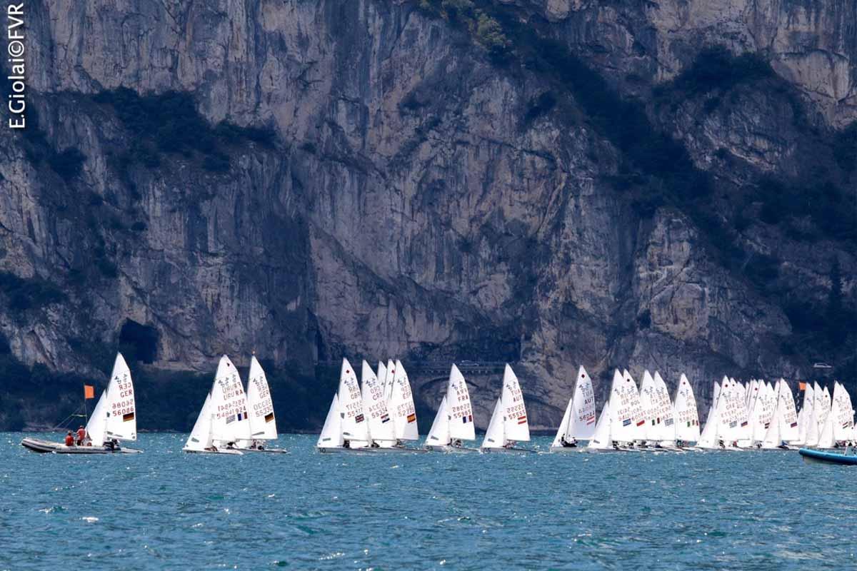Europei Juniores 420 e 470, grande vela giovanile a Riva