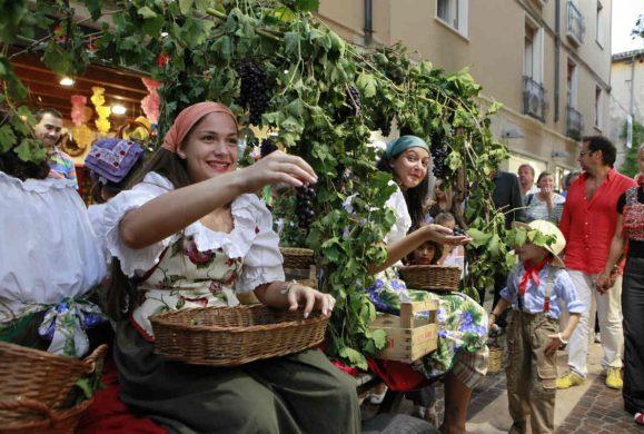 La Festa dell'uva e del vino Bardolino, simbolo di un territorio