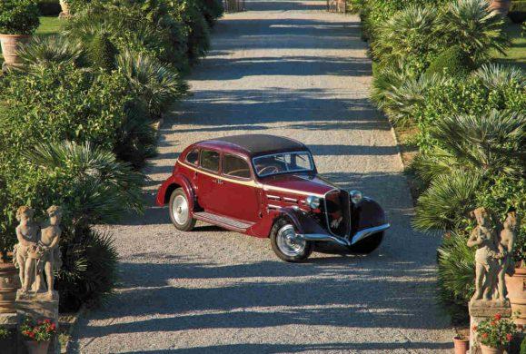 All'asta l'Alfa Romeo 6C che fu di d'Annunzio