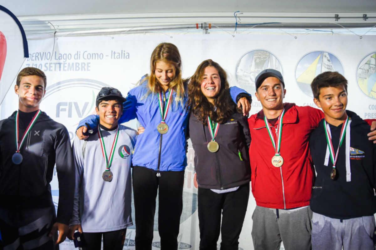 Fraglia Riva, Salvetta argento al campionato italiano