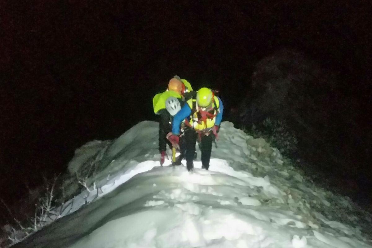 Persi sul Baldo tra neve e freddo, salvati da un sms inviato in Germania