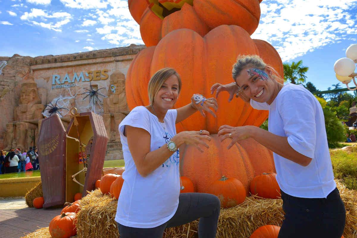 Le tuffatrici Cagnotto e Dallapè aprono Gardaland Magic Halloween