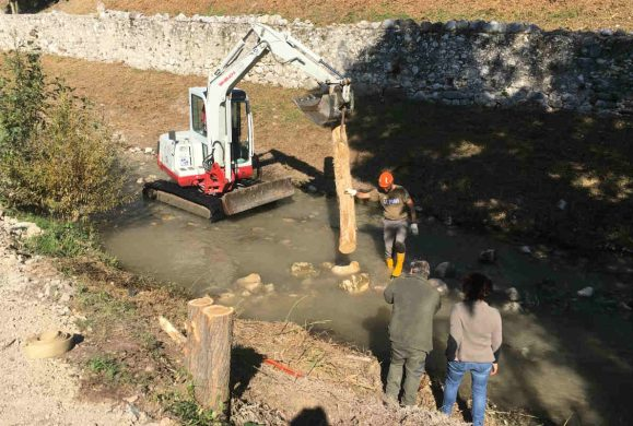 Fiume Toscolano, lavori per salvare trota lacustre e biodiversità