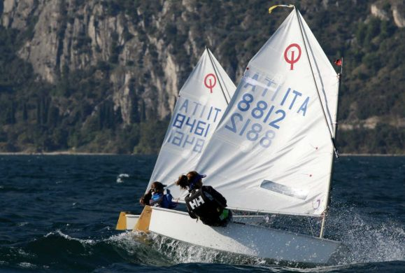 Week end a tutto Optimist in Fraglia a Riva