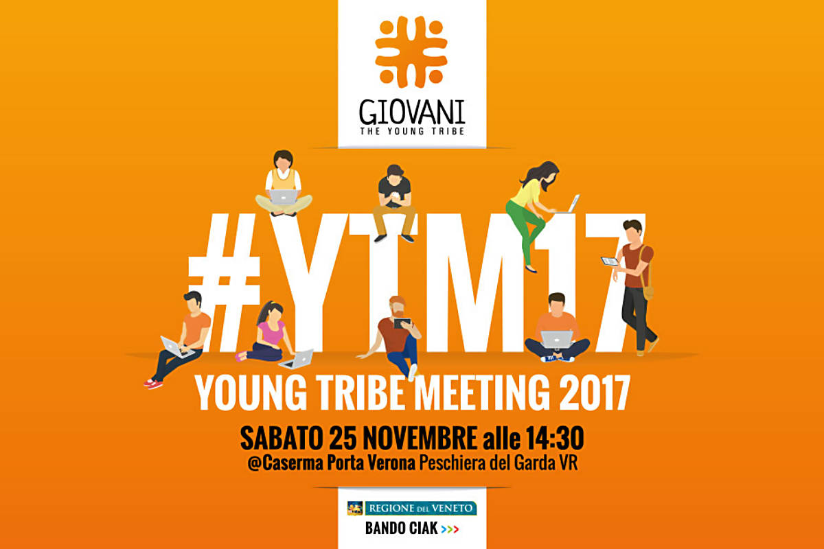 Peschiera, i giovani veronesi si confrontano al Young Tribe Meeting