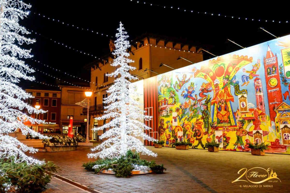 Villaggio Di Natale Bussolengo Immagini.Quest Anno Il Villaggio Di Natale Flover E Anche On The Road