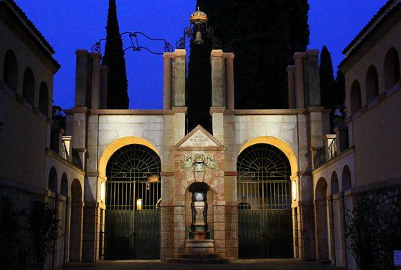 Il portale d'ingresso del Vittoriale ha ritrovato i suoi colori