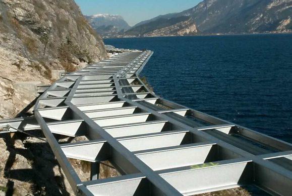 Ciclabile, a Riva del Garda non sarà a sbalzo
