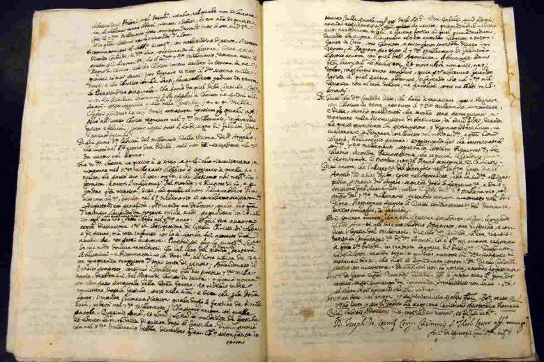 manoscritto archivi