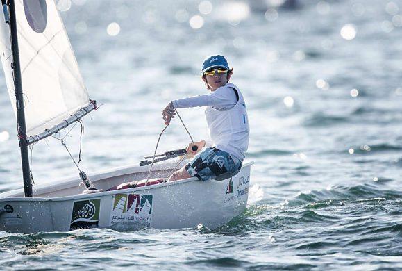 Alex Demurtas (Fraglia Vela Riva) terzo alla Mussanah Race Week, in Oman
