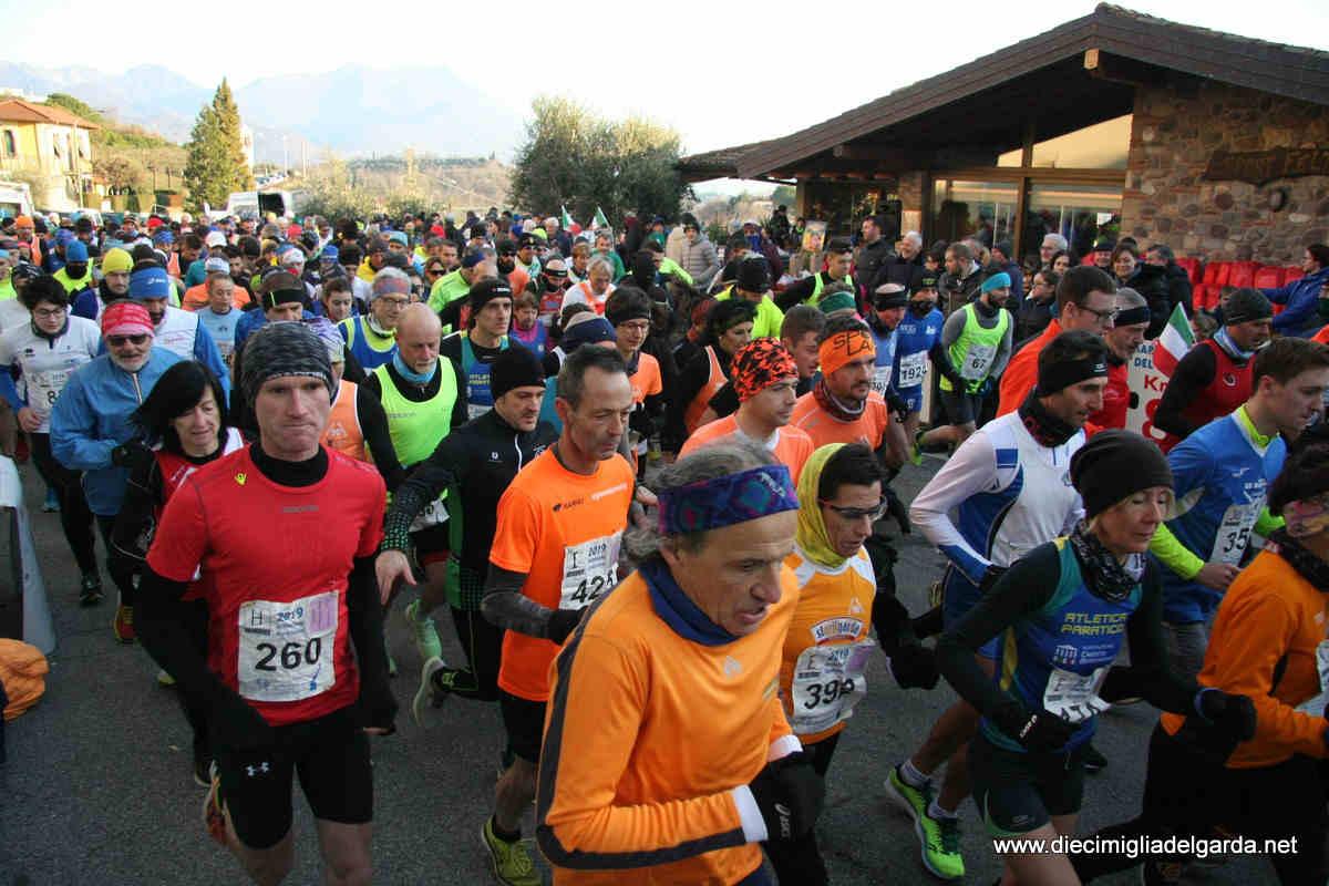 Hinterland Gardesano, 60mila di corsa. Tutte le classifiche del