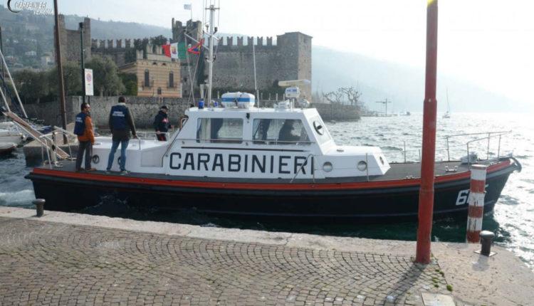 Carabinieri rifiuti lago1