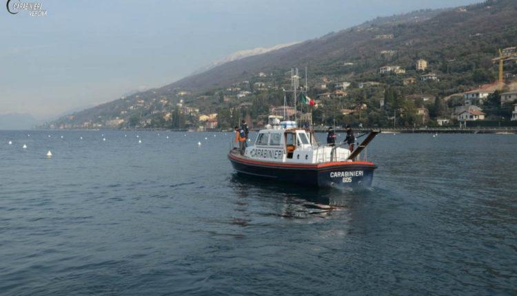 Carabinieri rifiuti lago10