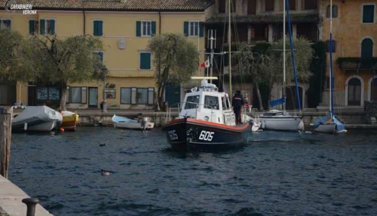 Carabinieri rifiuti lago3