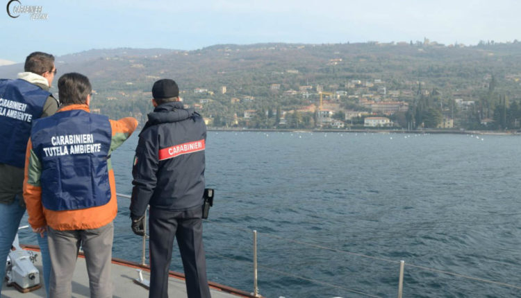 Carabinieri rifiuti lago7